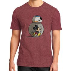 Mm8 StarwARS District T-Shirt (on man)