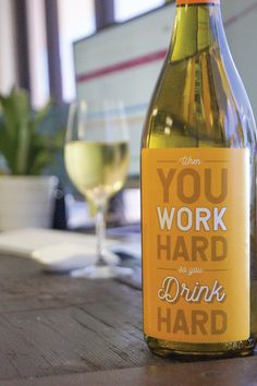 Work Makes You Drink Wine Label Set. Funny gift ideas for a co-worker or an employee party. Birthday Surprise For Mom, Birthday Gifts For Brother, Adult Birthday Party, Funny Birthday, Birthday Cakes, Gifts For Coworkers, Gifts For Mum, Cheer Up Gifts, Creative Birthday Gifts