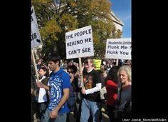 Truth in protesting!