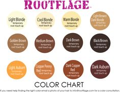 Rootflage Light Brown/Dark Blonde Temporary Root Touch Up is a MUST have for color maintenance. Our Brown mineral powder makes it easy to boost, bump, lift, blend, touch up and camouflage those roots. Light Blonde Hair, Warm Blonde, Cool Blonde, Blonde Color, Root Touch Up Powder, Root Touch Up Spray, Vivid Hair Color, Color Your Hair, Blonde Roots