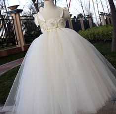 Hey, I found this really awesome Etsy listing at http://www.etsy.com/listing/129647364/flower-girl-dress-ivory-tutu-dress-baby