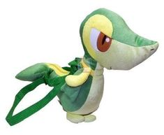 Snivy 14' Plush Backpack >>> Learn more by visiting the image link. (This is an Amazon Affiliate link and I receive a commission for the sales)