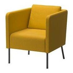 EKERÖ Chair - Skiftebo yellow - IKEA