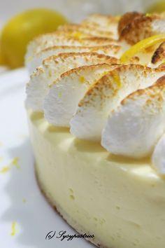 Gâteau Nuage au citron