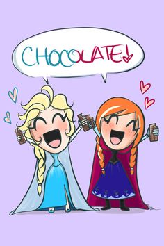 "Frozen~sisters ""CHOCOLATE"""