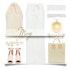 May by pattykake on Polyvore featuring polyvore fashion style Prabal Gurung TIBI Givenchy Sophie Hulme Gucci Pier 1 Imports BoConcept clothing