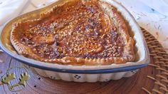 Persimmon and lentils Pie http://www.legumechef.com/en/the-recipes/recipe-book/item/625-tarta-de-caqui-y-lentejas