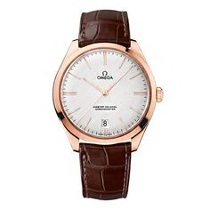 Omega De Ville Tresor Master Co-Axial Rose Gold Automatic Men's Watch