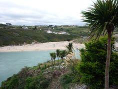 Crantock Sands Cornwall