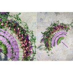 Аксессуар, украшение в руку невесте - #букетвеер в гобеленной технике   #olesyagavrishflowers #bridalbouquet #weddingflowers #followme #букетневесты #свадебныйбукет #авторскаяфлористика #дизайнерскийбукет #свадьбалобня #лобняцветы #лобня #instaflowers