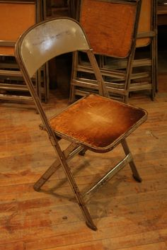 12 Folding Chairs by Smash Inventory, via Flickr