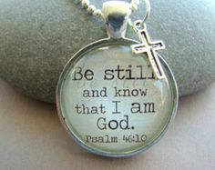 Proverbs 3:6 Necklace Religious Jewelry by SuedeSentiment