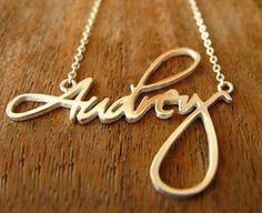 Custom Name Necklace, Customized Personalized Name Necklace and Pendants - http://www.getnamenecklace.com/custom-necklace