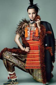 Miranda Kerr by Mario Testino for Vogue Japan | 15周年記念第3弾となる『VOGUE JAPAN』11月号(9月27日(土)発売)