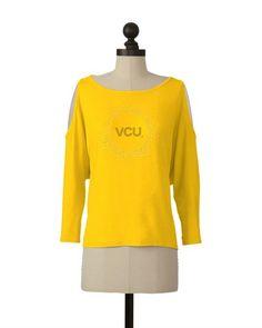 VCU Rams | Cutaway Shoulder Top | meesh & mia