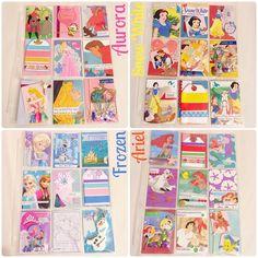 """Some princess #pocketletters that found their homes today!"" By Vero Zamora"