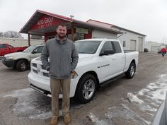 """""""I have been looking for a truck for a very long time and finally found one. Bill was a great help for over the last year while i was finding the perfect truck. The staff is very helpful and respectful and made it a very easy process.."""" -Andrew J. Thanks Andrew, and a BIG thanks from the Auto Group! We appreciate the opportunity to earn your business, and hope you enjoy your new Ram 1500!"""