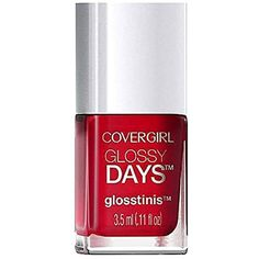 Covergirl Glossy Days Glosstinis Nail Gloss, 650 Raving Hot * Click image for more details. (This is an affiliate link and I receive a commission for the sales)