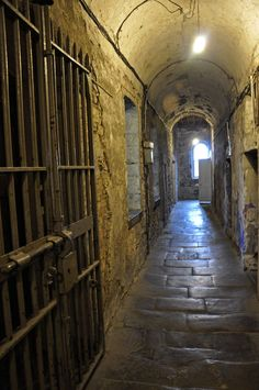 Kilmainham Gaol is a Building in L. Plan your road trip to Kilmainham Gaol in L with Roadtrippers. Places Around The World, Oh The Places You'll Go, Places To Visit, Around The Worlds, England Ireland, England And Scotland, Kilmainham Gaol, Ireland Travel, Galway Ireland