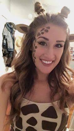 Image result for giraffe makeup