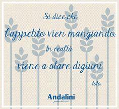 E voi avete già l'acquolina per il #pranzodelladomenica?  www.andalini.it