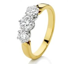 This Canadian Fire trilogy ring has been crafted from yellow and white gold and can be worn as an engagement or dress ring. It contains a total of of diamonds Whole Heart, Dress Rings, Diamond Are A Girls Best Friend, Diamond Engagement Rings, Diamond Jewelry, Dream Wedding, White Gold, Diamonds, Jewellery