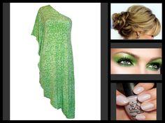 WORSHIP LIME AND WHITE PRINT ONE SHOULDER DRESS One Shoulder, Shoulder Dress, Worship, Lime, Dresses, Fashion, Vestidos, Moda, Limes