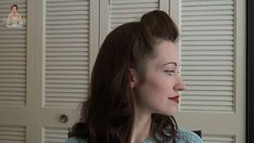 How to Do Victory Rolls 1940s Hairstyles, Bun Hairstyles, Wedding Hairstyles, Pin Up Hair, Hair Pins, Rockabilly Hair Tutorials, High Bun Hair, Ballroom Hair, 1920s Hair
