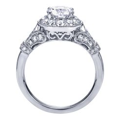 Gabriel & Co. Engagement Ring. . . Beautiful!