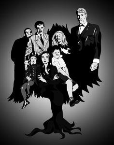 addams family fan art - Google Search