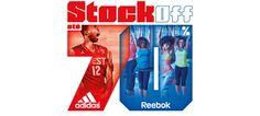 Adidas e Reebok em Stock Off no Freeport