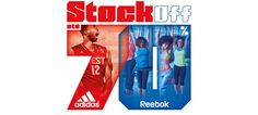Adidas e Reebok em Stock Off no Freeport