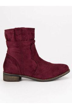 Bordové topánky Nio Nio Timberland, Chelsea Boots, Vans, Platform, Ankle, Shoes, Fashion, Moda, Zapatos
