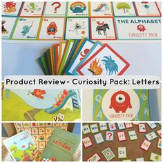 Product Review- Curiosity Pack: Letters