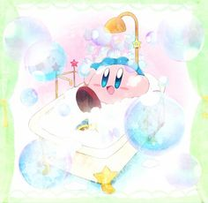 ITS SO CUTE!!!! YOU DONT KNOW HOW MUCH I LOVE BUBBLE KIRBY!!!!