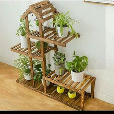 new ideas for outdoor furniture makeover easy diy Wooden Projects, Woodworking Projects Diy, Wood Crafts, Pallet Projects, House Plants Decor, Plant Decor, Deco Zen, Decoration Plante, Diy Plant Stand