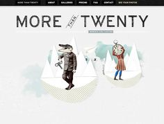 Illustrated Elements in Web Design