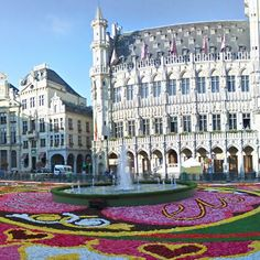 The Grand-Place. Brussels