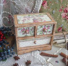 Весенний мини-комод. Резерв - мини-комод,розы,прованс,кантри,хранение