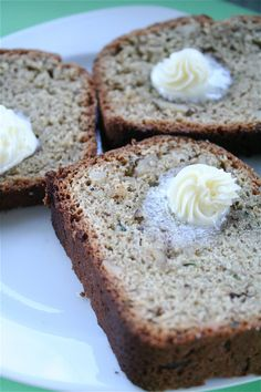 Zucchini Bread | The Curvy Carrot Zucchini Bread | Healthy and Indulgent Meals Dangling in Front of You