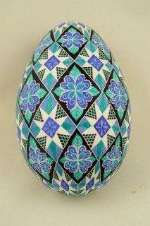 Goose egg by Dore Douty  www.doreseggs.com