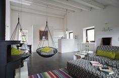 Borgo Tranquillo, villa rental in Le Marche, Italy.  Living room