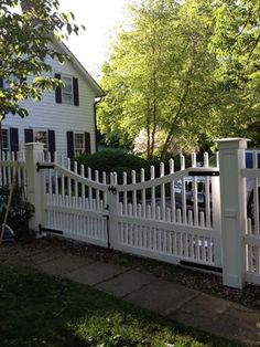Redding Victorian Picket Fence and Gates farmhouse landscape