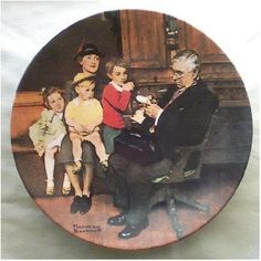Norman Rockwell Heritage Collector Plate The Family by GranVintage