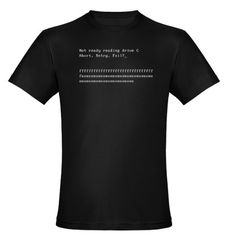 Abort, Retry, Fail? - Mens Fitted T-Shirt (dark) $25.99