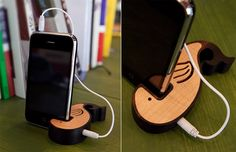 I.dear Wooden Zoo Stand is Also a (Tiny) Whale of a Speaker
