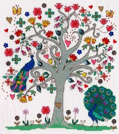 Love Summer Cross Stitch Kit | sewandso