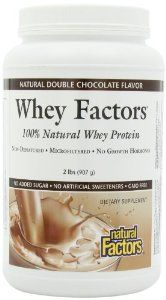 Natural Factors Whey Factors Chocolate by Natural Factors 4.5 out of 5 stars  See all reviews (90 customer reviews) List Price: $60.81 Price: $24.98 ($0.78 / oz) & FREE Shipping on orders over $25. Details You Save: $35.83 (59%) Natural Factors - Whey Factors 100% Natural Whey Protein Natural Double Chocolate Best Weight Loss Supplement, Weight Loss Supplements, Natural Whey Protein, Whey Protein Concentrate, Chocolate Flavors, Factors, Gluten Free, Health, Free Shipping