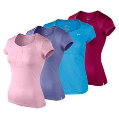 Nike Short Sleeve Jersey Tennis Top for only $55.00. What a deal we know you must have as part of your tennis outfit.