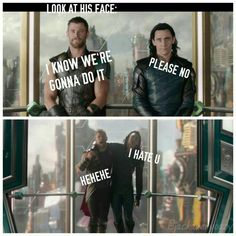 Thor's face :)